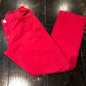 FERRARI/Boy's /Red/Pants/size 5/ Gently Worn